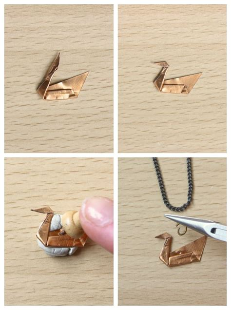 Origami Swan Necklace - 25 best ideas about origami swan on simple