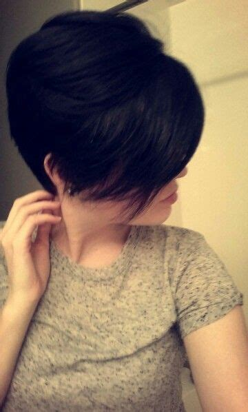 pixie cut for square face pixie cuts square faces and long bangs on pinterest