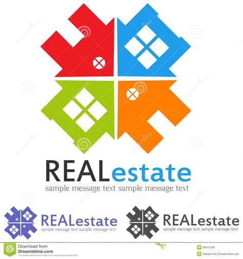 Cottage Style Home Plans Concept Logo Royalty Free Stock Photos Image 30610768