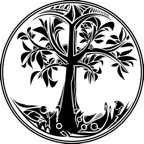 clipart tree of life