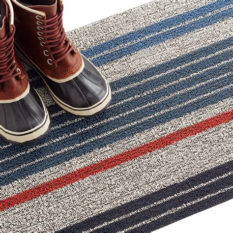 Chilewich Doormat by Chilewich Montauk Multi Stripe Door Mat The Container Store