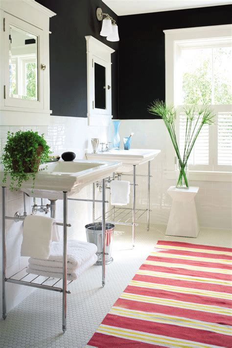 Get This Look Bright White Double Vanity Bath Remodelaholic Apartment Therapy Bathroom Vanity