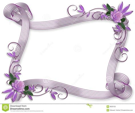 Wedding Announcement Borders by 100 Best Images About Wedding Invitation Border Bg On