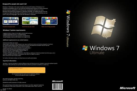 Windows Dvd 7 Original microsoft windows 7 ultimate retailfinal x86 32 bit and