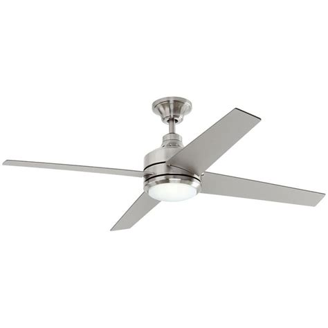 petersford 52 in led brushed nickel ceiling fan best 25 brushed nickel ceiling fan ideas on