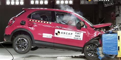 fiat 500 safety ratings 500x e class impreza receive five ancap safety rating
