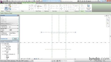 revit constraints tutorial setting up reference planes and constraints