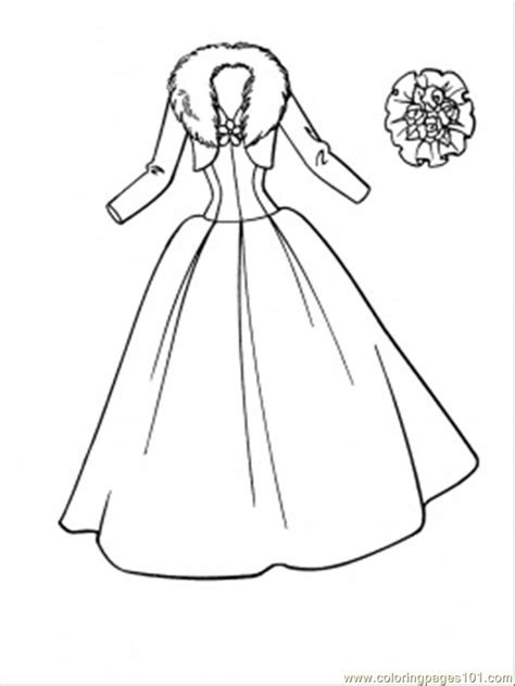 coloring pages wedding dress entertainment gt clothing