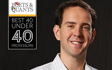 Best Professors Mba Carlson Poets And Quants by 2018 Best 40 40 Professors Jeff Galak Carnegie