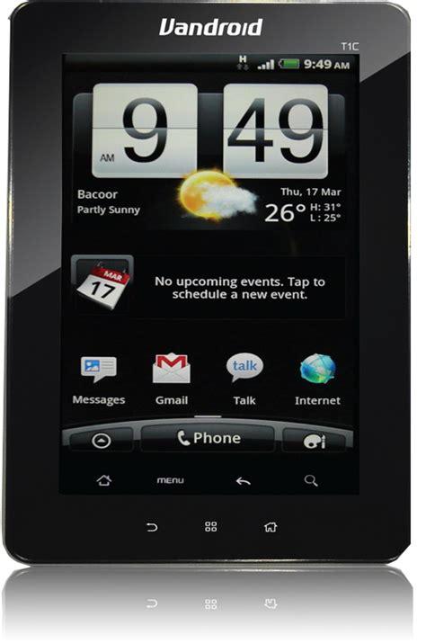 Advan Vandroid T1c daftar harga dan spesifikasi tablet pc terbaru 2012