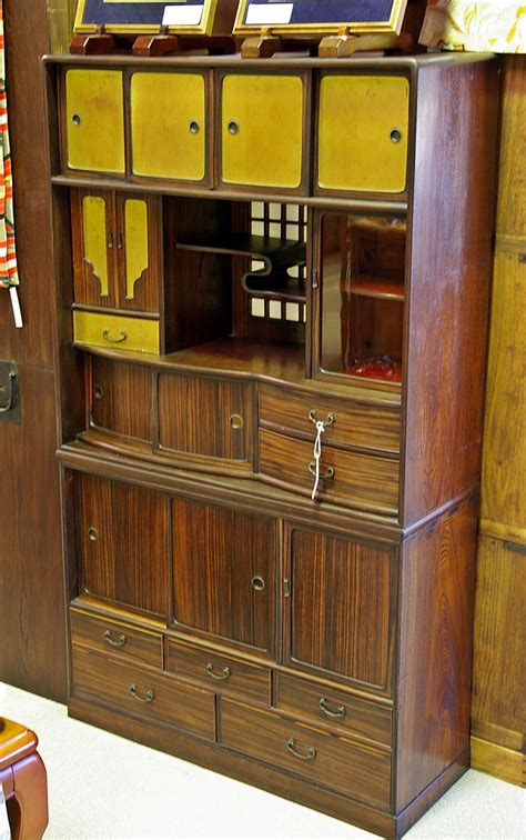 japanese kitchen cabinet japanese antique vintage display cabinets tansu