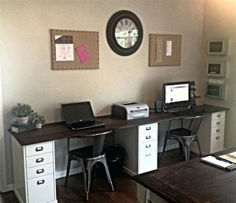 home office desks for two adammayfield co