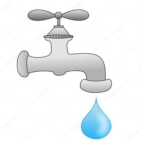 stock rubinetti un impianto idraulico rubinetto con una goccia d acqua