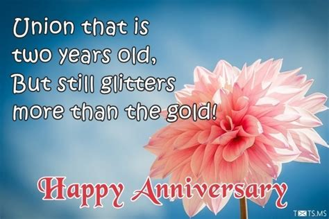 second wedding anniversary quotes for second anniversary wishes quotes messages images for