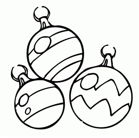 Christmas Ornaments Free Printable Coloring Pages Decoration Coloring Pages