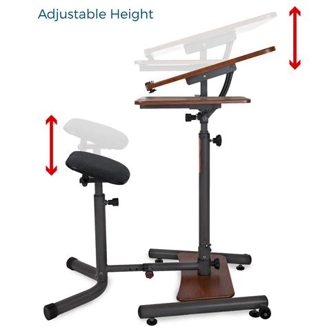 amazon sit stand desk amazon com teeter sit stand desk adjustable height
