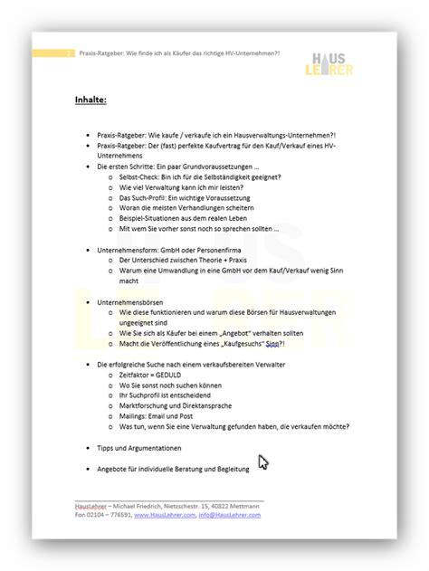 Angebot Hausverwaltung Muster Unternehmenskauf Verkauf Hausverwaltung Produkte Vorlagen Muster Co F 252 R Hausverwaltungen