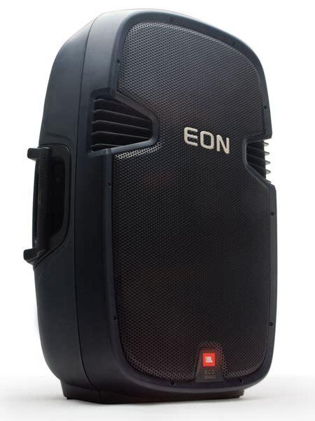 Speaker Jbl Eon the new jbl eon speakers with clean look and more power tuvie