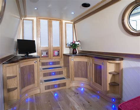 Small Boat Interior Design Beautiful Narrowboats On Pinterest Narrowboat Boats And