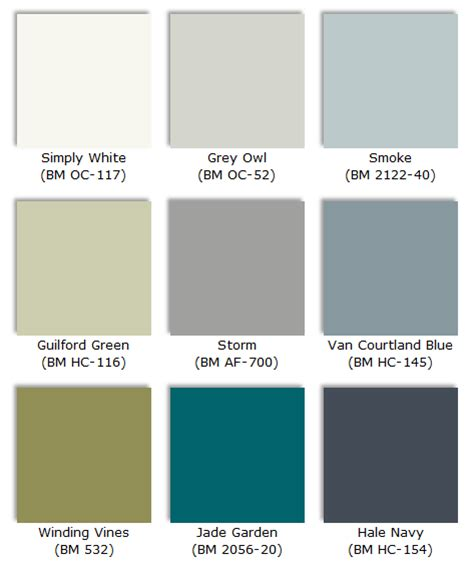 we call it nh 224 paint colors