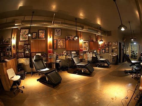 tattoo studio design shop pinteres