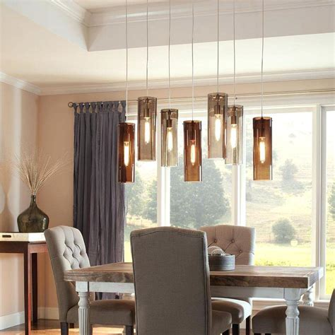 hanging lights for dining table hanging dining room light table dining room design