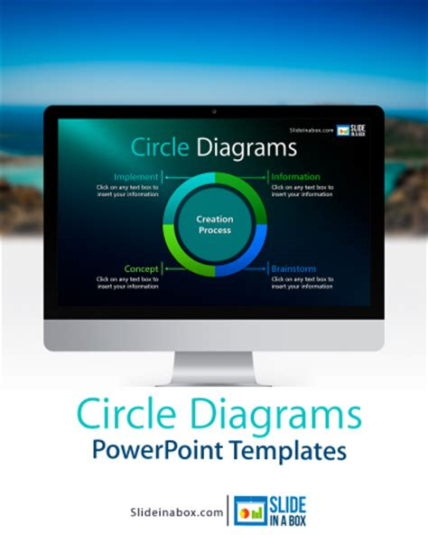 tue powerpoint template blogs slide in a box