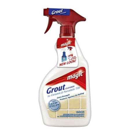 magic american 30 oz magic grout and tile cleaner trigger