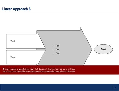 advanced linear approach powerpoint templates powerpoint