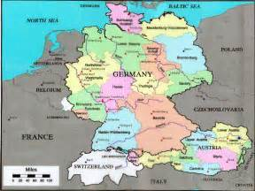 A Map Of Germany by Germany Ken S Pastimes