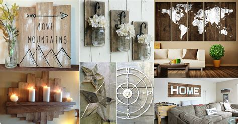 rustic wall ideas to spice up the atmosphere