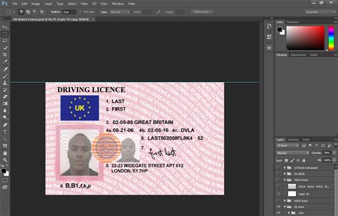 Driving Licence Template by All Categories Internetboulder