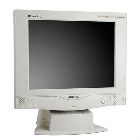 buy philips brilliance 151ax 15 quot lcd tft vga monitor at