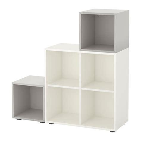 Ikea Eket Kabinet Warna Putih Ukuran 35x35x35 Cm eket kombinasi kabinet dengan kaki putih abu abu muda ikea