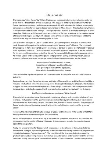 critical essays major themes in othello higher english shakespeare s othello julius caesar 4x
