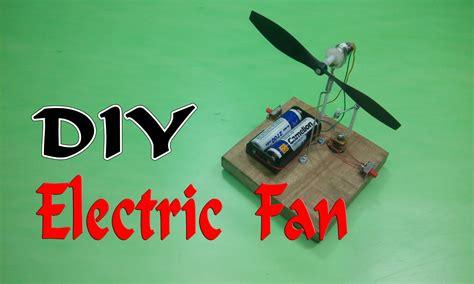 how to make electric fan how to make a mini electric fan auto rotation youtube