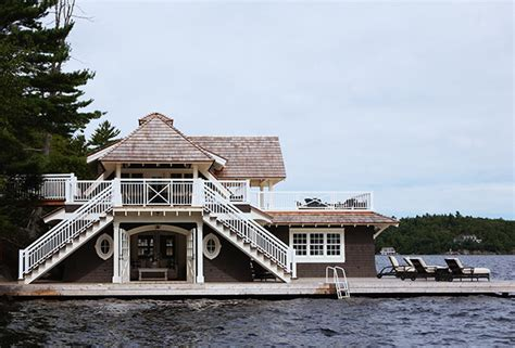 muskoka boat house breathtaking boathouses you ll want to live in