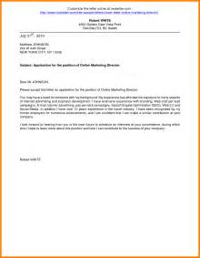 Application Cover Letter Format by Cover Letter Format For Application Jianbochen
