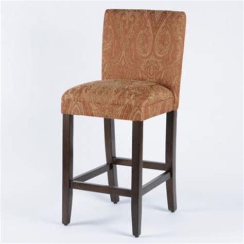 parson bar stool paisley parsons bar stool traditional bar stools and