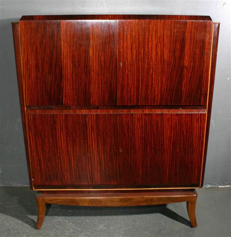 vintage liquor cabinet for sale ruhlmann style rosewood china liquor cabinet j4141c for