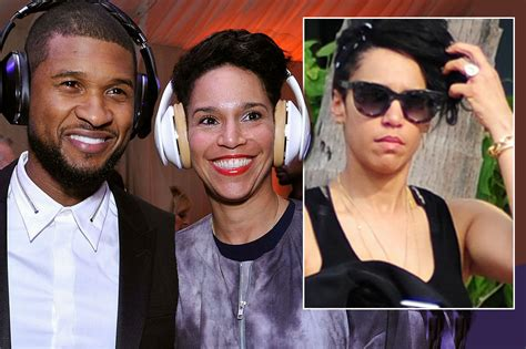 Ushers Engaged by Is Usher Engaged Singer Could Be Tying The Knot After
