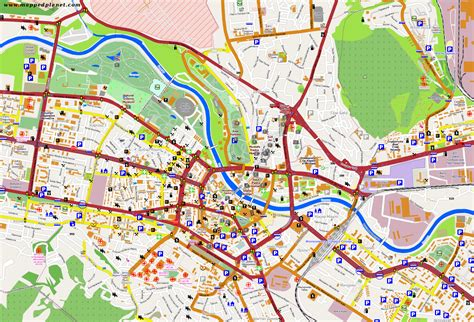 city maps of city maps skopje