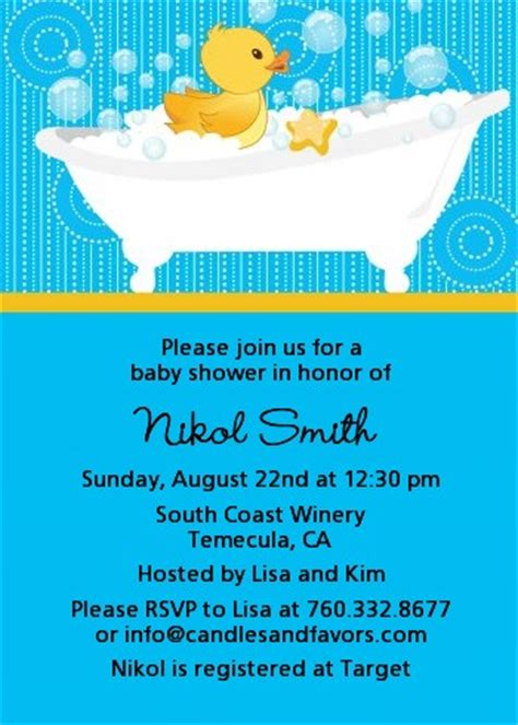 duck baby shower invitations wblqual com
