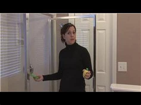How To Remove Water Spots From Shower Doors by Housekeeping Tips How To Remove Water Stains On