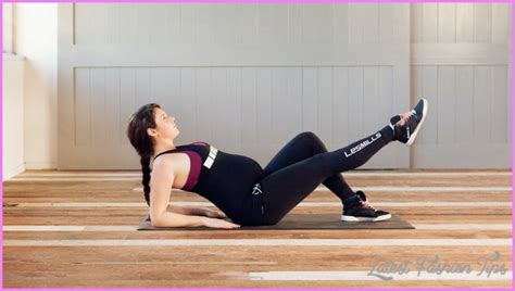 safe ab exercises while latestfashiontips
