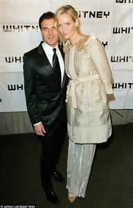 Uma Thurman Confirms Shes Dating Andre Balazs by Uma Thurman Towers On Again Lover Andre Balazs At The