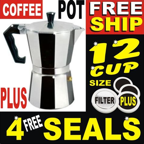 Valve Micro Bean For Gas Ja Cbell Co 12 cup aluminium moka expresso coffee pot maker