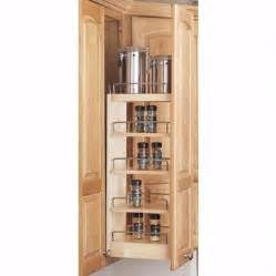 wall cabinet wood pullout organizers rev a shelf 448