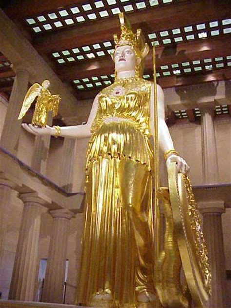 did athena get along with the other gods athena parthenos by phidias article ancient history