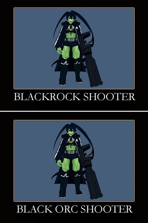 Orc Meme - black orc shooter template by crimson shirou on deviantart